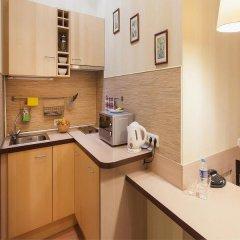 Апартаменты Веста Стандартный номер с двуспальной кроватью фото 20
