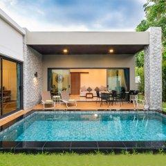 Отель Вилла Acasia Pool Villa Resort Phuket Бухта Чалонг бассейн фото 2