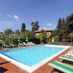 Отель Villa Belvedere Италия, Сан-Джиминьяно - отзывы, цены и фото номеров - забронировать отель Villa Belvedere онлайн бассейн фото 3