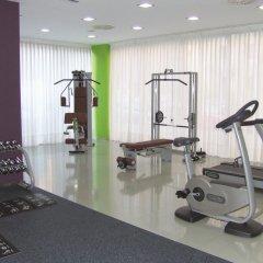 Отель Abba Huesca Уэска фитнесс-зал