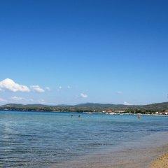 Отель Geranion Village пляж фото 2