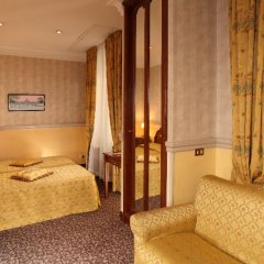 Hotel Condotti 3* Стандартный номер с двуспальной кроватью фото 14