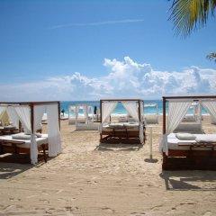 Отель Las Golondrinas Плая-дель-Кармен пляж