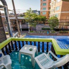 Отель Nong Guest House Таиланд, Паттайя - отзывы, цены и фото номеров - забронировать отель Nong Guest House онлайн балкон
