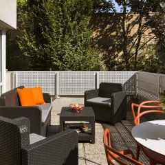 Citadines Apart`Hotel Montmartre Париж балкон