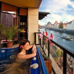 Отель Riverside Royal Hotel Германия, Берлин - отзывы, цены и фото номеров - забронировать отель Riverside Royal Hotel онлайн балкон