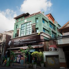 Отель Pannee Residence at Dinsor Таиланд, Бангкок - отзывы, цены и фото номеров - забронировать отель Pannee Residence at Dinsor онлайн вид на фасад