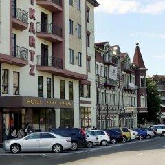 Гостиница Reikartz Dnipro парковка