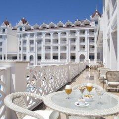 Отель Oz Hotels Side Premium балкон