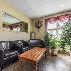 Отель Econo Lodge Montmorency Falls Канада, Буашатель - отзывы, цены и фото номеров - забронировать отель Econo Lodge Montmorency Falls онлайн интерьер отеля фото 3