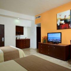 Отель Sunset Fishermen Beach Resort Плая-дель-Кармен комната для гостей фото 3