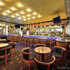 Отель Novotel Budapest Centrum Будапешт гостиничный бар