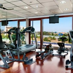 Отель Hilton Madrid Airport фитнесс-зал фото 4