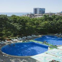Отель Zdravets Hotel - All inclusive Болгария, Золотые пески - отзывы, цены и фото номеров - забронировать отель Zdravets Hotel - All inclusive онлайн бассейн фото 3