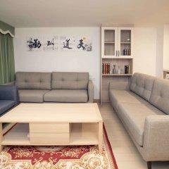 Апартаменты Tengsen Apartment Wanke Yuncheng Branch комната для гостей фото 5