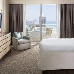 Отель Fontainebleau Miami Beach 4* Люкс с двуспальной кроватью фото 4
