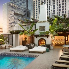 Hotel Figueroa Downtown Los Angeles бассейн фото 2
