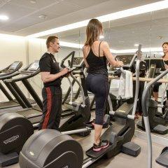Отель Marriott Lyon Cité Internationale фитнесс-зал фото 4