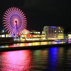 Отель Marinoa Resort Fukuoka Фукуока приотельная территория