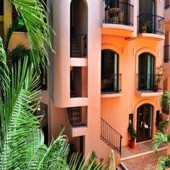 Отель Acanto Hotel and Condominiums Playa del Carmen Мексика, Плая-дель-Кармен - отзывы, цены и фото номеров - забронировать отель Acanto Hotel and Condominiums Playa del Carmen онлайн балкон