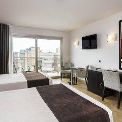 Отель Sandos Monaco Beach Hotel & Spa - Только для взрослых - Все включено Испания, Бенидорм - отзывы, цены и фото номеров - забронировать отель Sandos Monaco Beach Hotel & Spa - Только для взрослых - Все включено онлайн комната для гостей фото 3