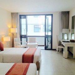 Nhi Phi Hotel комната для гостей