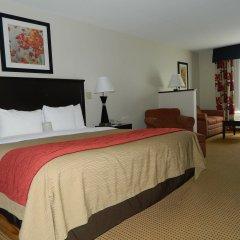 Отель Comfort Inn Farmington удобства в номере