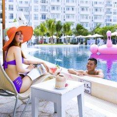 Отель Champa Island Nha Trang Resort Hotel & Spa Вьетнам, Нячанг - 1 отзыв об отеле, цены и фото номеров - забронировать отель Champa Island Nha Trang Resort Hotel & Spa онлайн бассейн фото 3