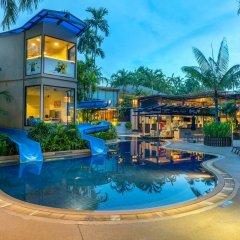 Отель Novotel Phuket Surin Beach Resort Таиланд, Пхукет - 7 отзывов об отеле, цены и фото номеров - забронировать отель Novotel Phuket Surin Beach Resort онлайн бассейн фото 3