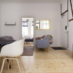 Апартаменты Spacious Apartments in Copenhagen Centre комната для гостей фото 3