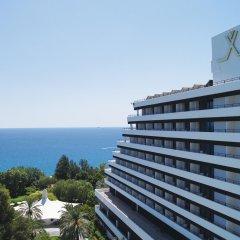 Rixos Downtown Antalya Турция, Анталья - 7 отзывов об отеле, цены и фото номеров - забронировать отель Rixos Downtown Antalya онлайн пляж