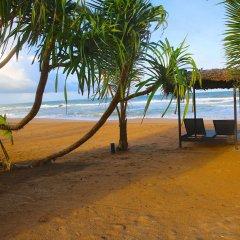 Отель Whispering Palms Hotel Шри-Ланка, Бентота - отзывы, цены и фото номеров - забронировать отель Whispering Palms Hotel онлайн пляж фото 2