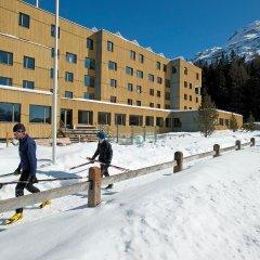 Отель Youth Hostel St. Moritz Швейцария, Санкт-Мориц - отзывы, цены и фото номеров - забронировать отель Youth Hostel St. Moritz онлайн спортивное сооружение