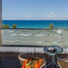 Отель Belair Beach Греция, Родос - 1 отзыв об отеле, цены и фото номеров - забронировать отель Belair Beach онлайн пляж фото 2