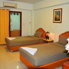 Отель Silver Gold Garden Suvarnabhumi Airport Таиланд, Бангкок - 5 отзывов об отеле, цены и фото номеров - забронировать отель Silver Gold Garden Suvarnabhumi Airport онлайн комната для гостей фото 4
