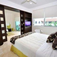 Отель La Papaya Plus 201 by Vimex Мексика, Плая-дель-Кармен - отзывы, цены и фото номеров - забронировать отель La Papaya Plus 201 by Vimex онлайн комната для гостей фото 5