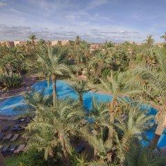 Hotel Marrakech Le Semiramis пляж