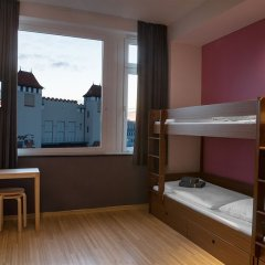 aletto Hotel Kudamm 3* Кровать в общем номере с двухъярусной кроватью фото 4