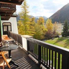 Отель Haus Altein Apartment Nr. 4 - Three Bedroom Швейцария, Давос - отзывы, цены и фото номеров - забронировать отель Haus Altein Apartment Nr. 4 - Three Bedroom онлайн балкон