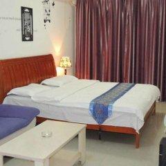 Отель Dihao Holiday Apartment Hotel Китай, Сиань - отзывы, цены и фото номеров - забронировать отель Dihao Holiday Apartment Hotel онлайн комната для гостей фото 4