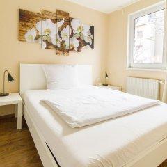 Отель Residenz Donaucity Австрия, Вена - отзывы, цены и фото номеров - забронировать отель Residenz Donaucity онлайн комната для гостей фото 5