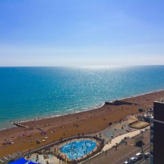 Отель Isabella Penthouse 15th Floor, Seafront пляж
