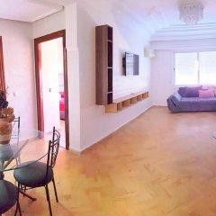 Апартаменты Furnished Apartment Casablanca комната для гостей фото 5