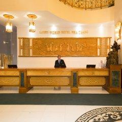 Green World Hotel Nha Trang Нячанг интерьер отеля фото 2