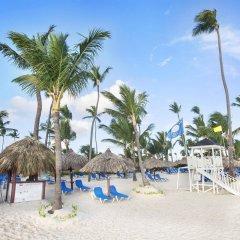 Отель Grand Bahia Principe Punta Cana - All Inclusive Доминикана, Пунта Кана - отзывы, цены и фото номеров - забронировать отель Grand Bahia Principe Punta Cana - All Inclusive онлайн пляж фото 2