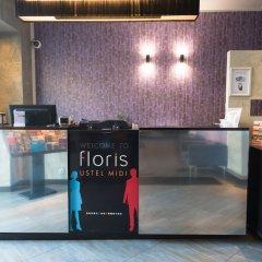 Floris Hotel Ustel Midi гостиничный бар