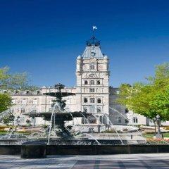 Отель Quebec City Marriott Downtown Канада, Квебек - отзывы, цены и фото номеров - забронировать отель Quebec City Marriott Downtown онлайн приотельная территория фото 2