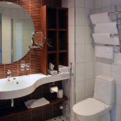 Отель Imatran Kylpylä Spa Apartments Финляндия, Иматра - 1 отзыв об отеле, цены и фото номеров - забронировать отель Imatran Kylpylä Spa Apartments онлайн ванная фото 2