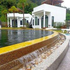 Отель Chalaroste Lanta The Private Resort Ланта приотельная территория