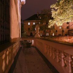 Hotel U Svatého Jana балкон